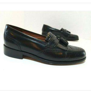 Bostonian Wingtip Kiltie Tassel Loafers Leather